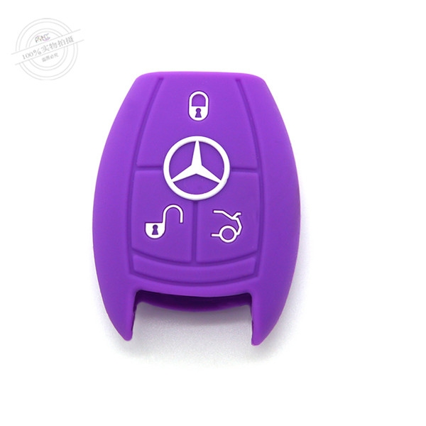 Mercedes Benz  E series key fob covers|cases|protectors|skins with logo for  C series|ML,7 colors,completely natural silicone.