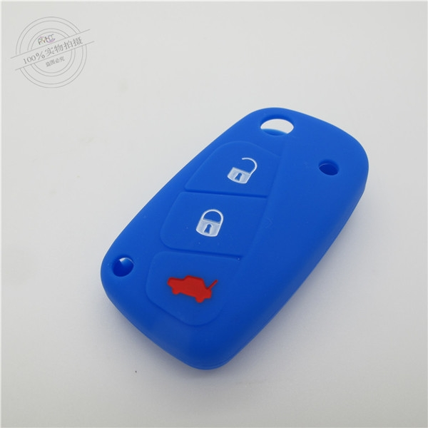 Fiat panda key fob covers|cases|protectors|skins with logo,8 colors,completely natural silicone.