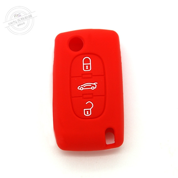 Citroen car key covers, silicone car key case for Citroen, best silicone key protector for car