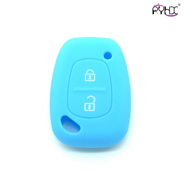 Renault car key holder, silicone key covers for car, silicone OEM products, silicone car accessories, 2 buttons