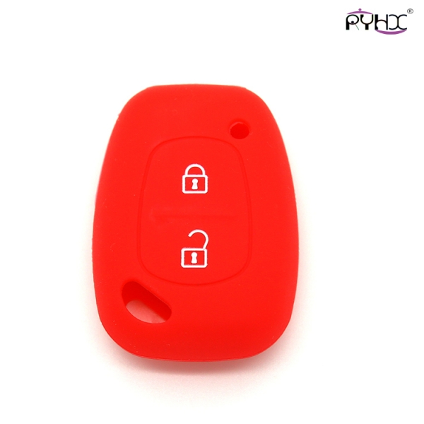 Renault car key remote covers, silicone car key case for renault, best silicone car key protector, red,2 buttons car key covers