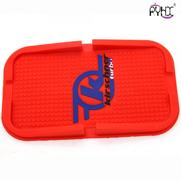 telephone fixing mat, silicone fixing cellphone mat, non-slip mat for phone