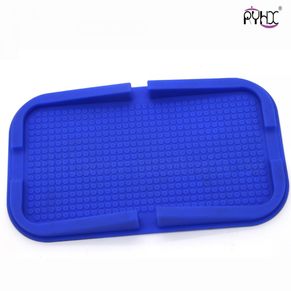 silicone non-slip mat for cellphone, waterproof silicone mat, non-slip silicone mat, silicone car accessories