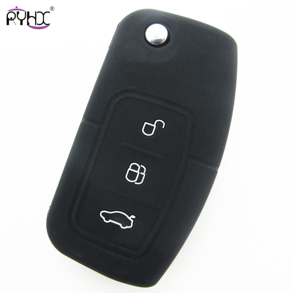 Online wholesale black 2012 Ford Focus key cover,3 button.