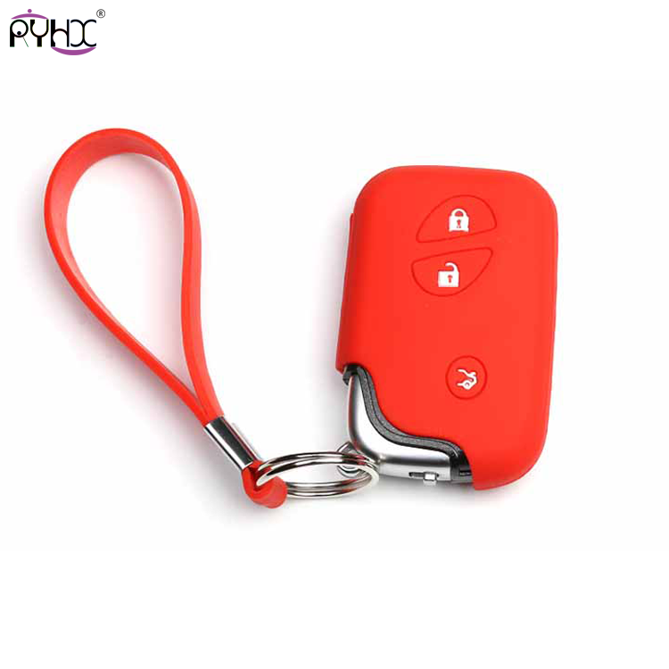 red lexus is250 key cover