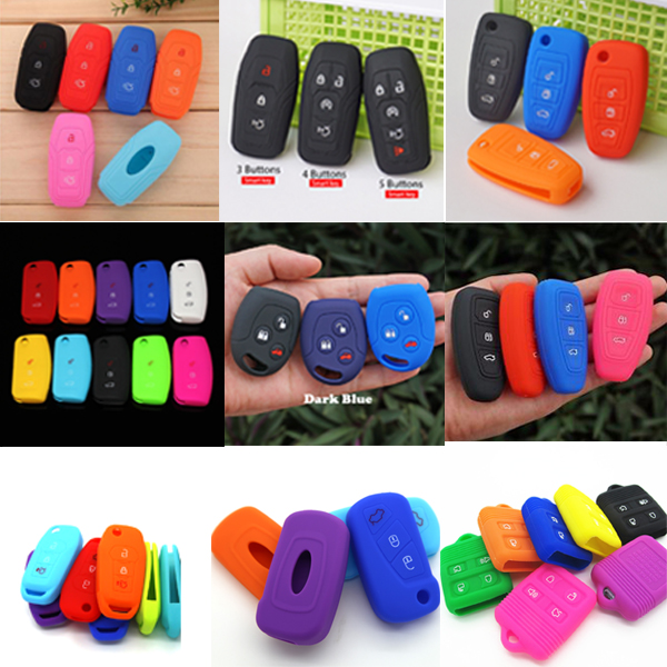 9 kinds of car key cover ford for various Ford car key