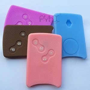 New beautiful silicone key covers for 4 button Renault Laguna Megane Koleos car key/remote.
