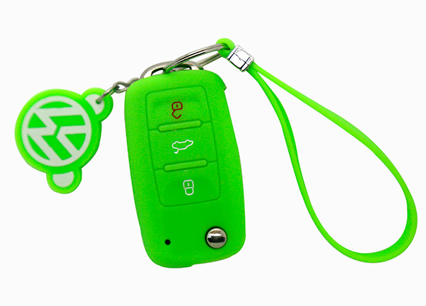 orange vw key cover