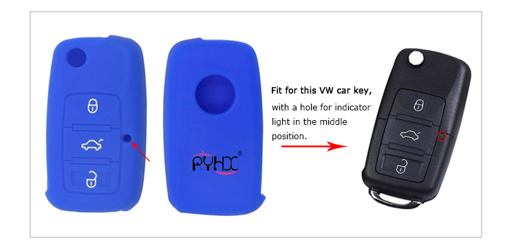 VW-silicone-key-case