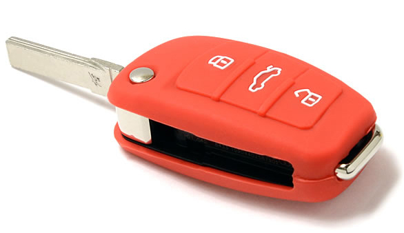 Orange Audi Q5 key fob cover