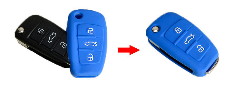 Audi Q5 key fob cover perfectly