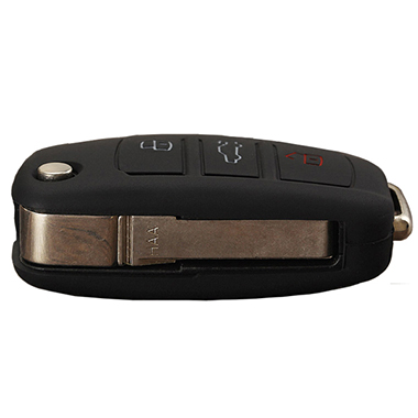 Black Audi Q5 key fob cover 4