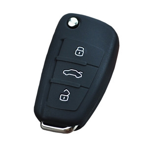 Silicone car key pouch for Audi A2