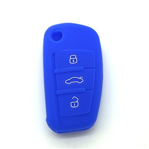 Silicone car key wallet for Audi A2