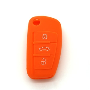 Silicone auto key cover for Audi A3