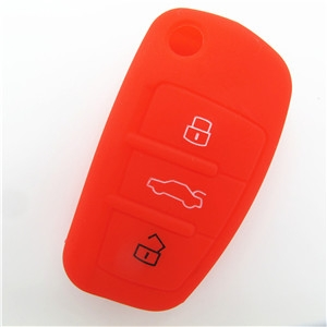 Audi A8 silicone key shell-Wholesale Custom