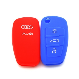 Silicone car key shuck for Audi A8