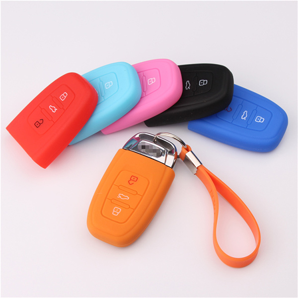 Audi B8 silicone key cover