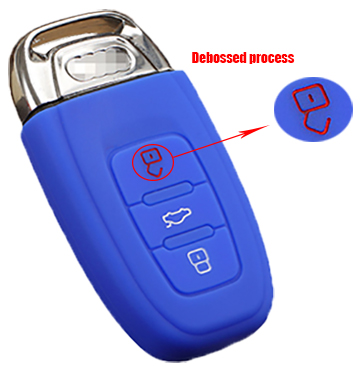 audi-siliocne-key-cover(debossed-process)