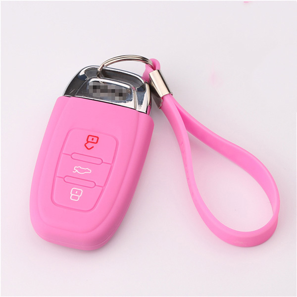 silicone-key-shell-for-Audi-B8